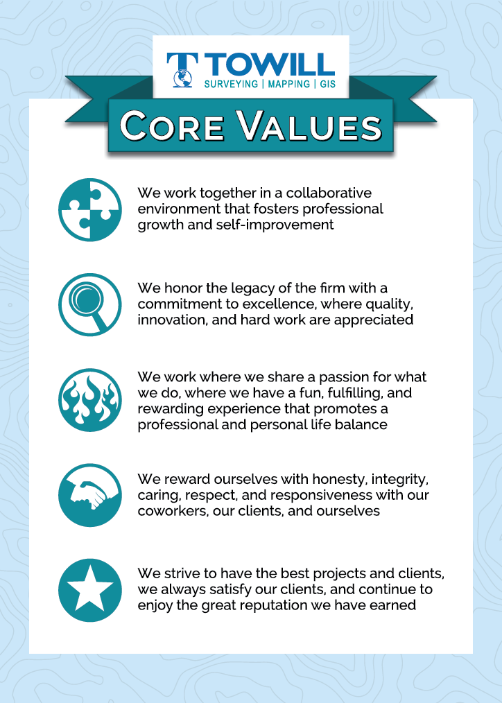 Towill's Core Values